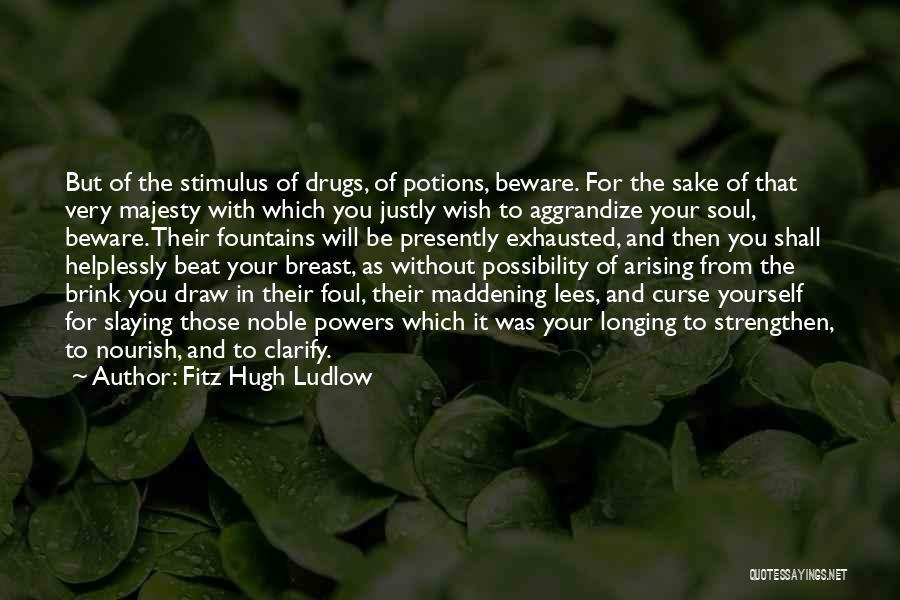 Fitz Hugh Ludlow Quotes 1545258