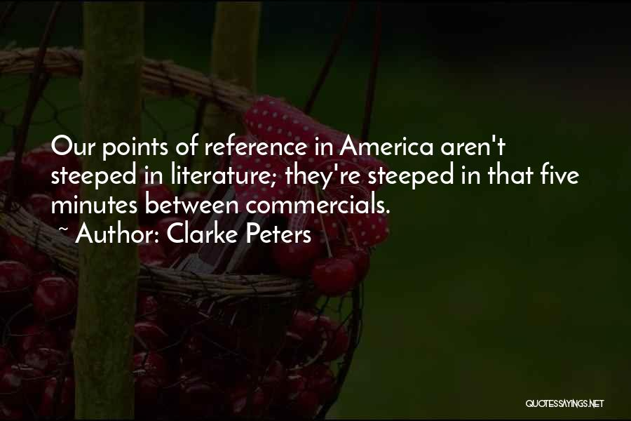 Five Points Quotes By Clarke Peters