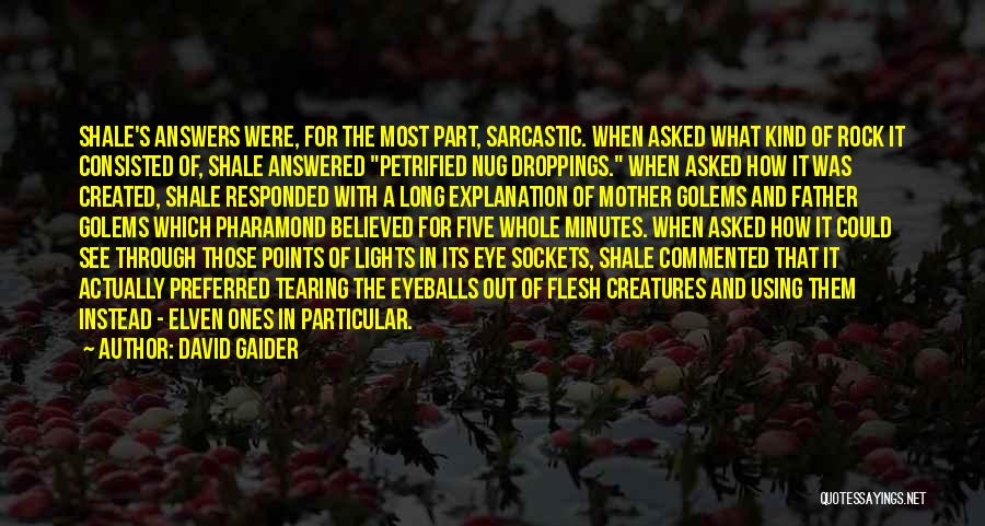 Five Points Quotes By David Gaider