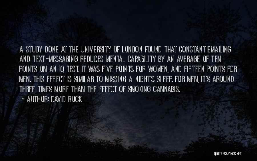 Five Points Quotes By David Rock