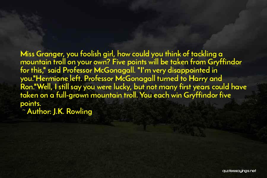 Five Points Quotes By J.K. Rowling