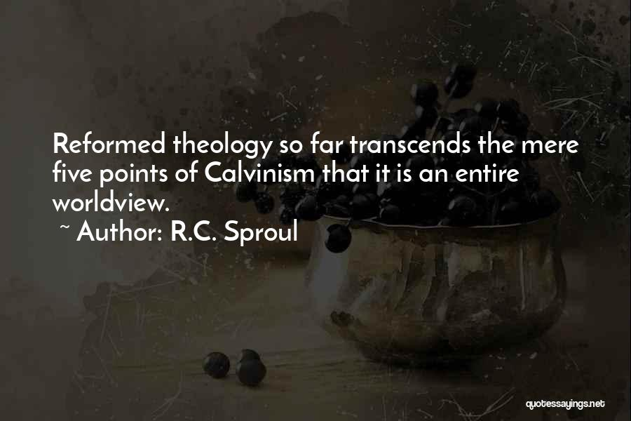 Five Points Quotes By R.C. Sproul