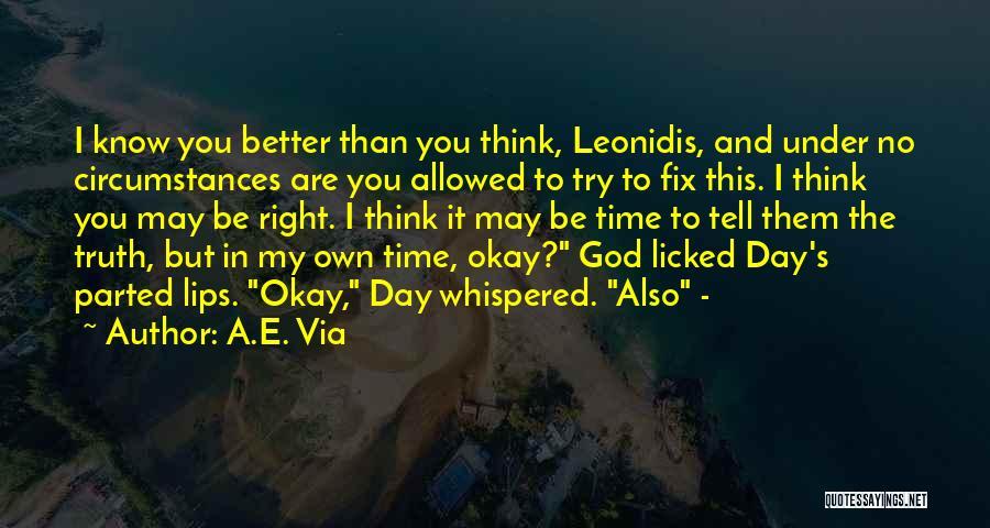Fix You Quotes By A.E. Via