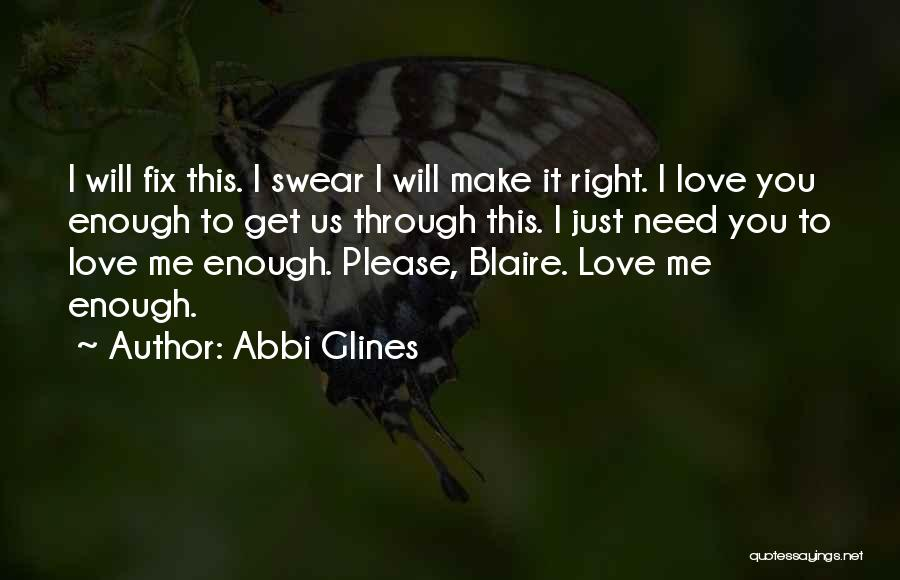 Fix You Quotes By Abbi Glines