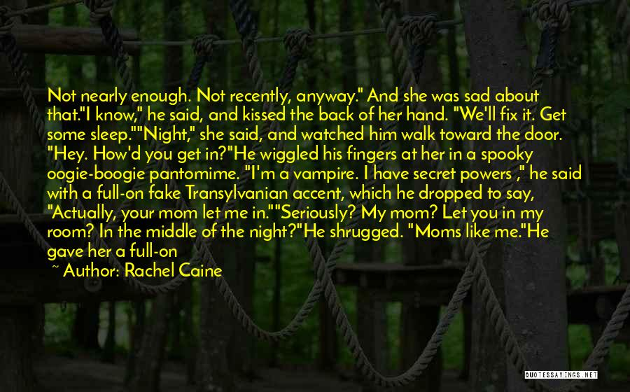 Fix You Quotes By Rachel Caine
