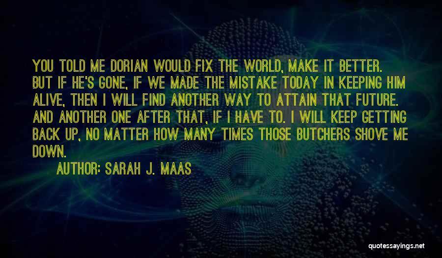 Fix You Quotes By Sarah J. Maas