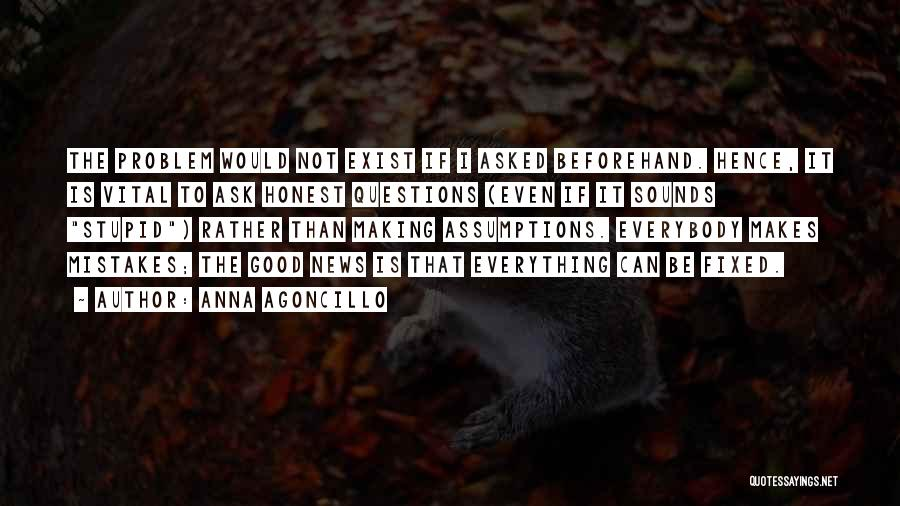 Fixed Problem Quotes By Anna Agoncillo