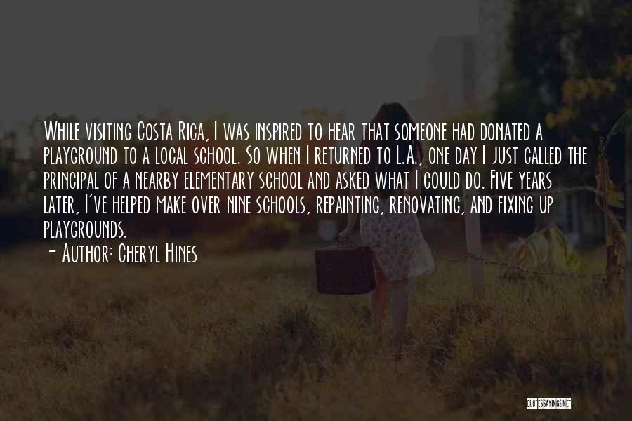 Fixing Someone Quotes By Cheryl Hines