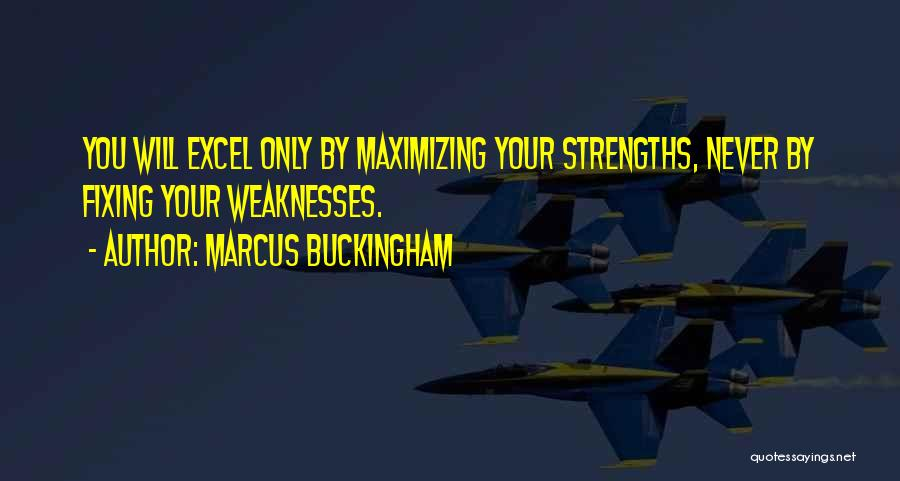 Fixing Someone Quotes By Marcus Buckingham