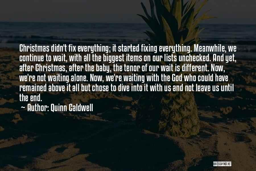 Fixing Someone Quotes By Quinn Caldwell