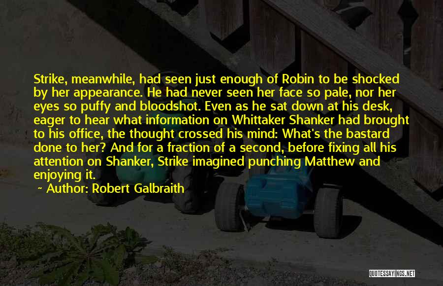 Fixing Someone Quotes By Robert Galbraith