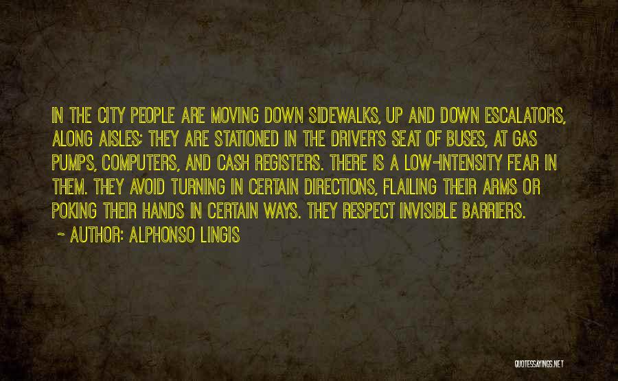 Flailing Quotes By Alphonso Lingis