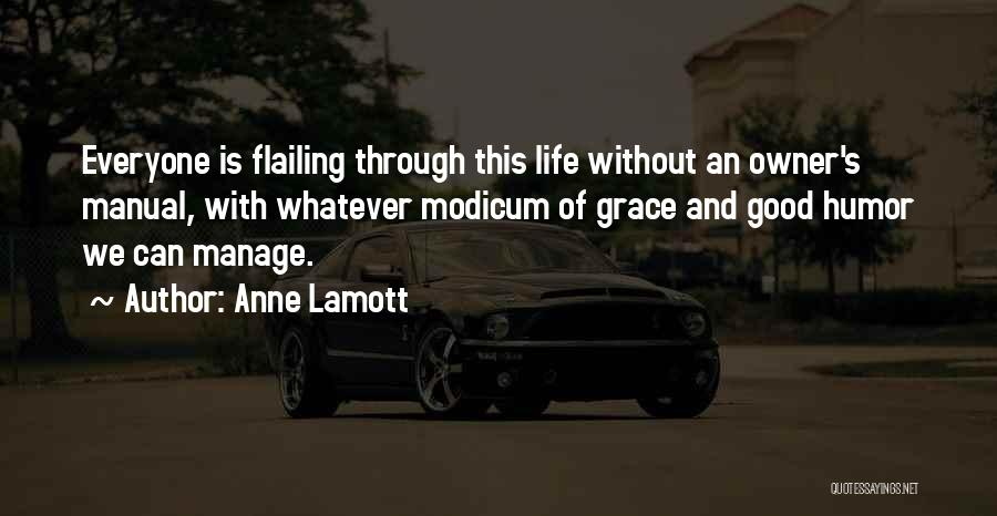 Flailing Quotes By Anne Lamott