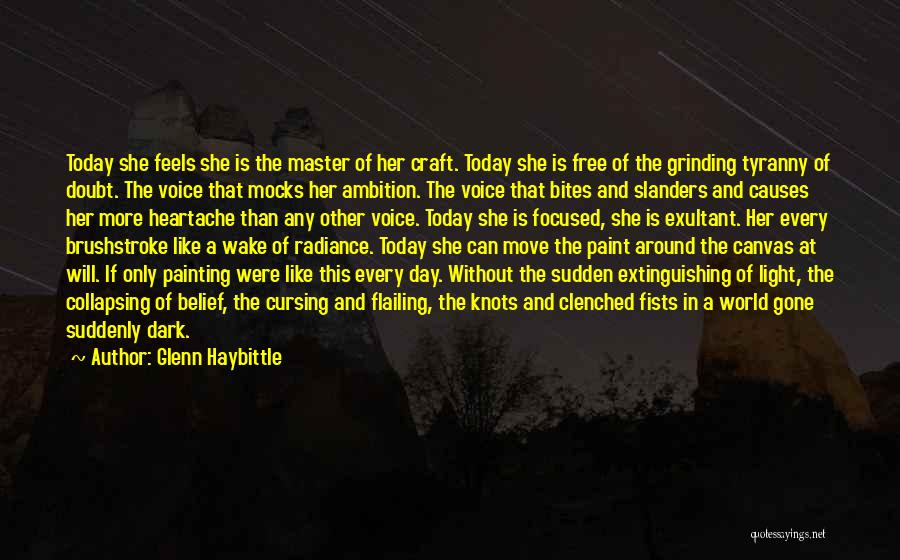Flailing Quotes By Glenn Haybittle