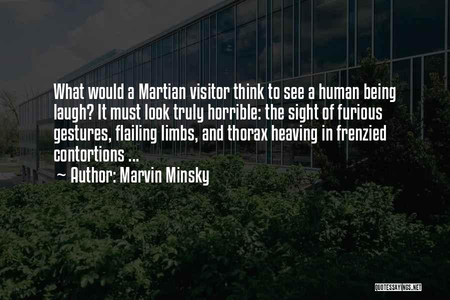 Flailing Quotes By Marvin Minsky