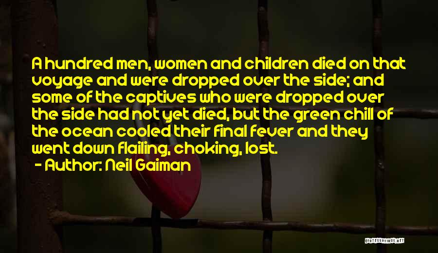 Flailing Quotes By Neil Gaiman