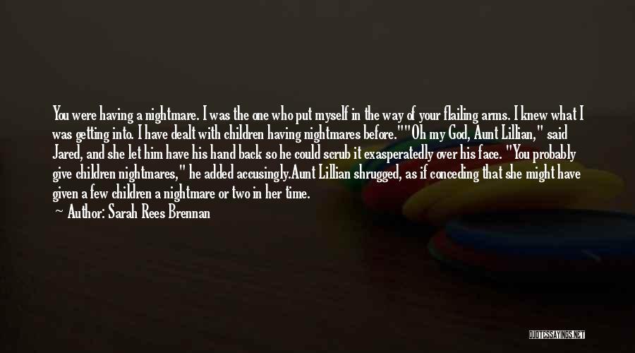 Flailing Quotes By Sarah Rees Brennan