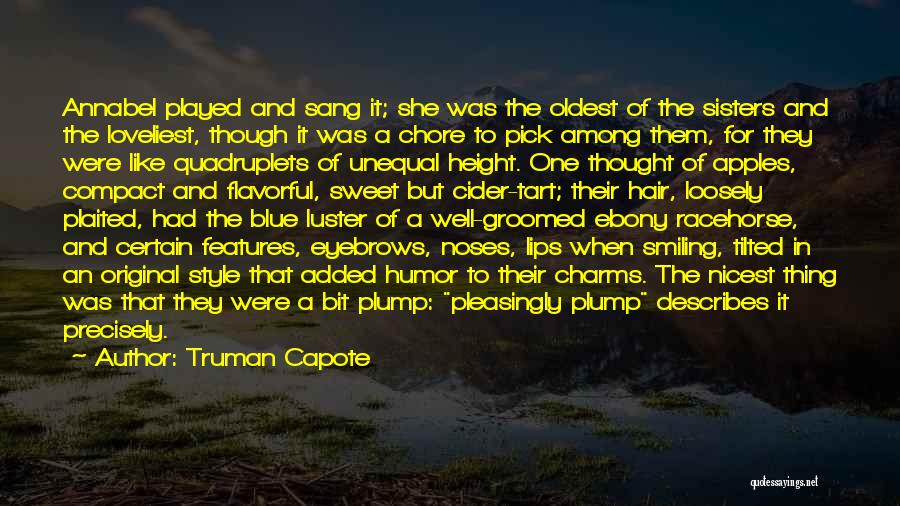 Flavorful Quotes By Truman Capote