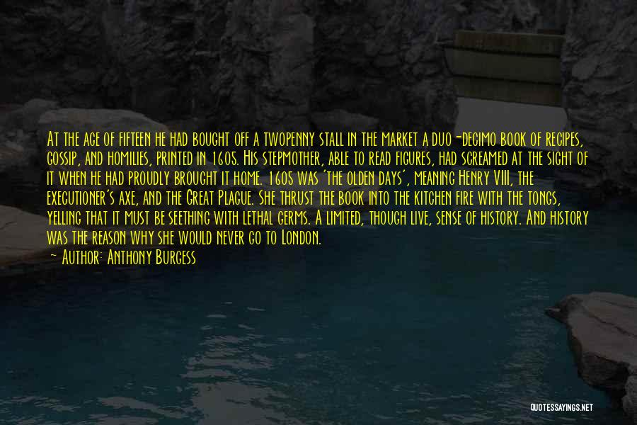 Fleet Street Quotes By Anthony Burgess