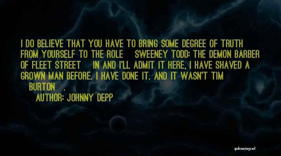 Fleet Street Quotes By Johnny Depp