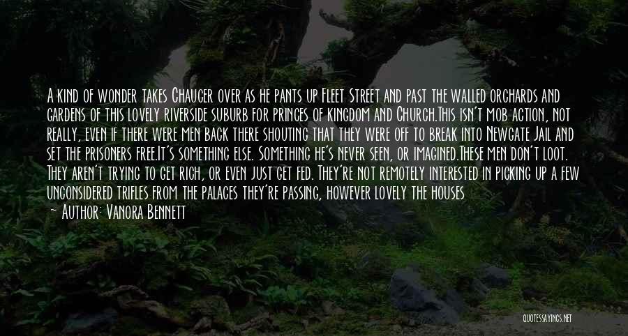 Fleet Street Quotes By Vanora Bennett