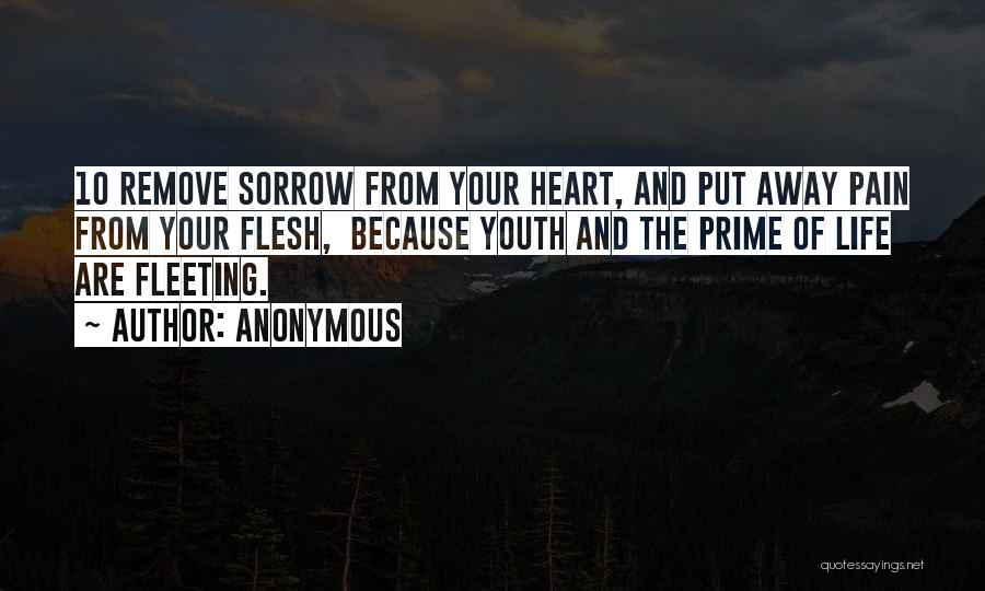Fleeting Heart Quotes By Anonymous