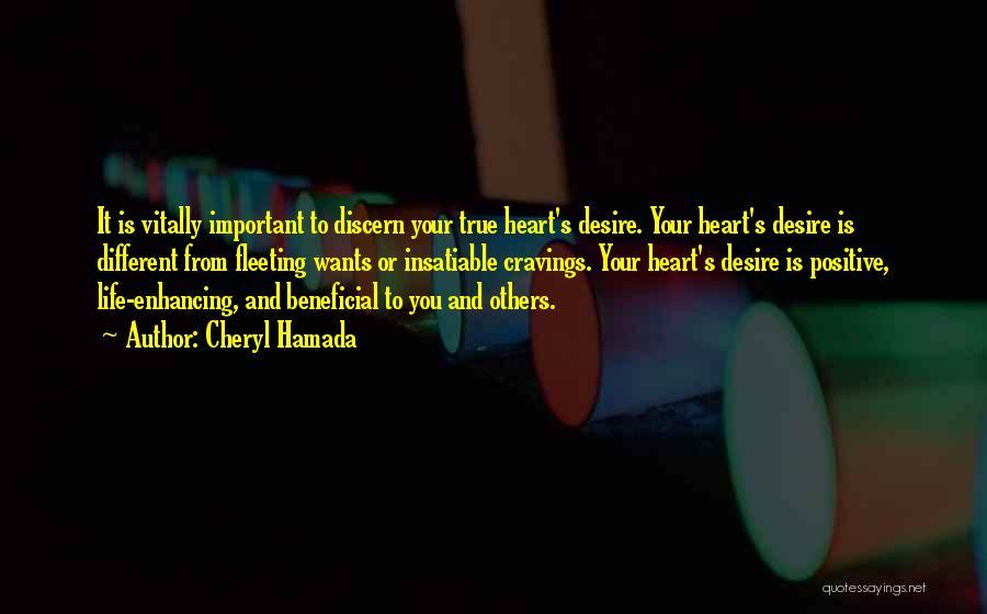 Fleeting Heart Quotes By Cheryl Hamada
