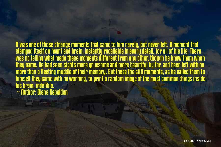 Fleeting Heart Quotes By Diana Gabaldon