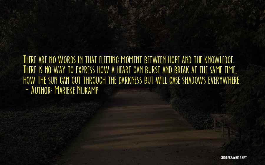Fleeting Heart Quotes By Marieke Nijkamp