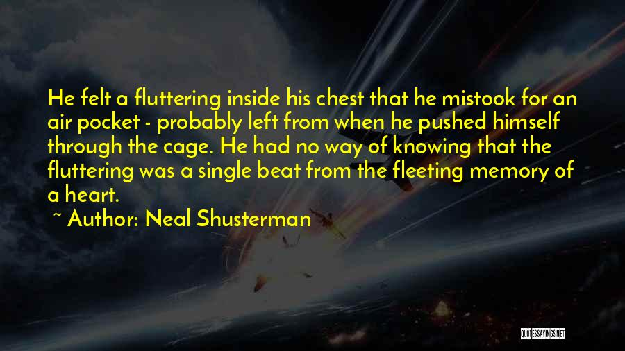 Fleeting Heart Quotes By Neal Shusterman
