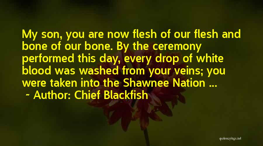 Flesh And Bone Quotes By Chief Blackfish
