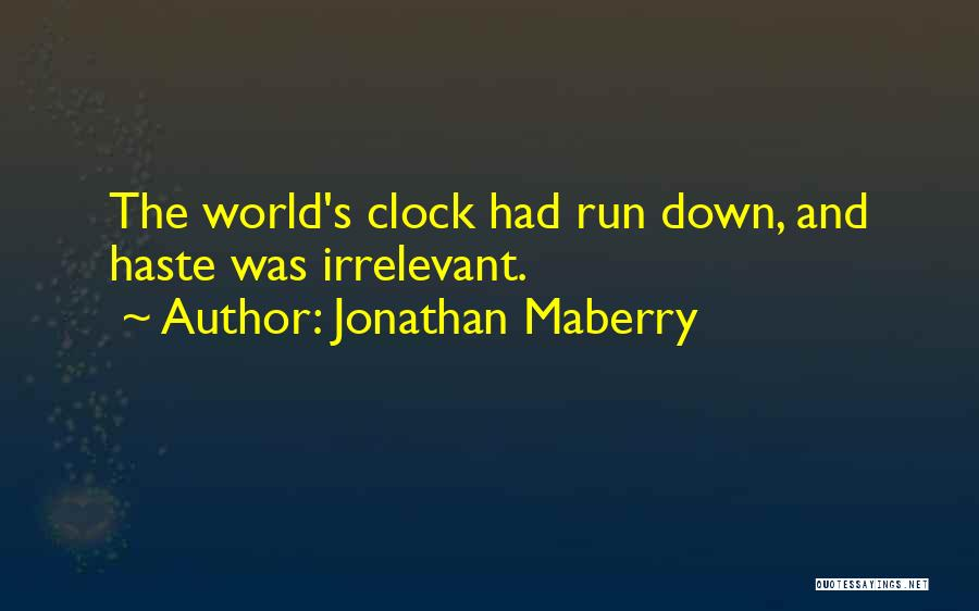 Flesh And Bone Quotes By Jonathan Maberry