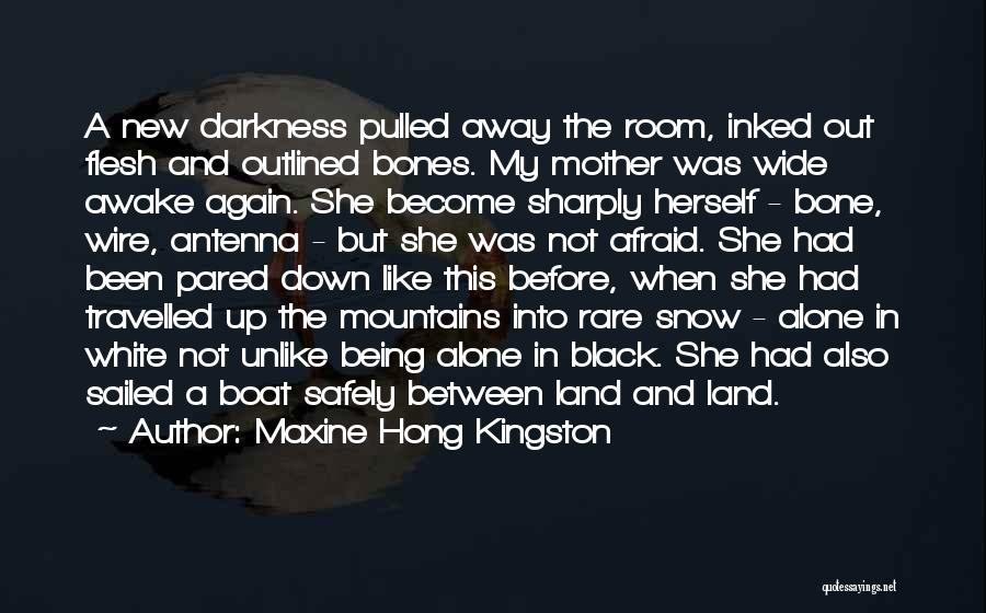 Flesh And Bone Quotes By Maxine Hong Kingston