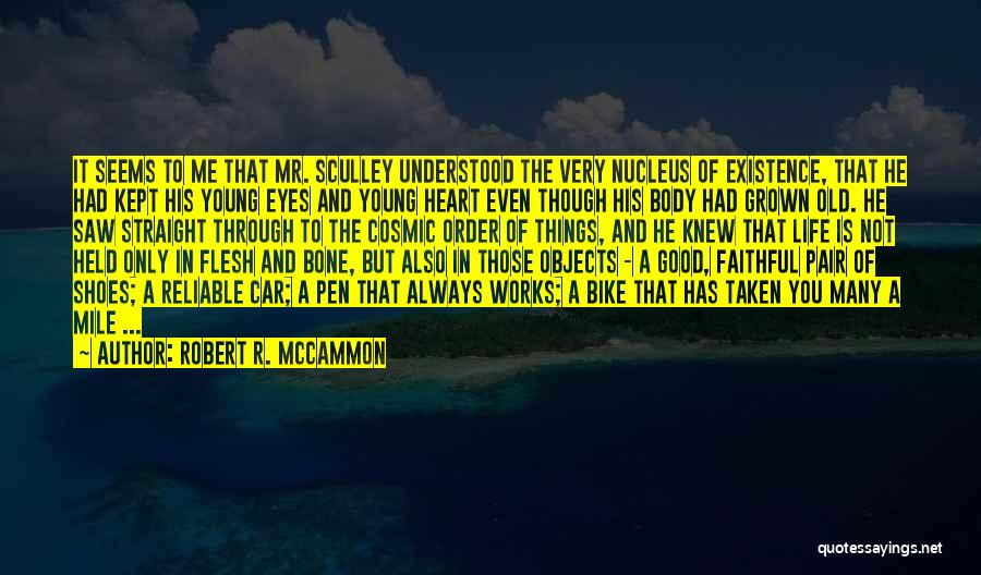 Flesh And Bone Quotes By Robert R. McCammon