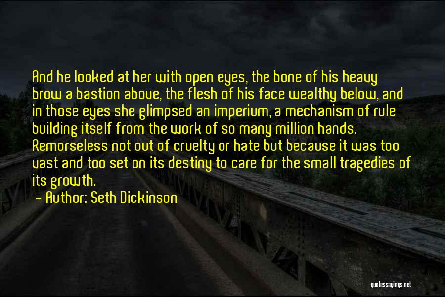 Flesh And Bone Quotes By Seth Dickinson
