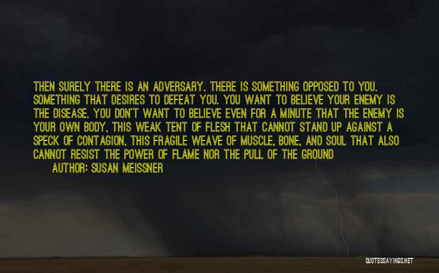Flesh And Bone Quotes By Susan Meissner