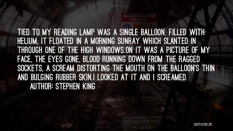 Floating Balloon Quotes By Stephen King
