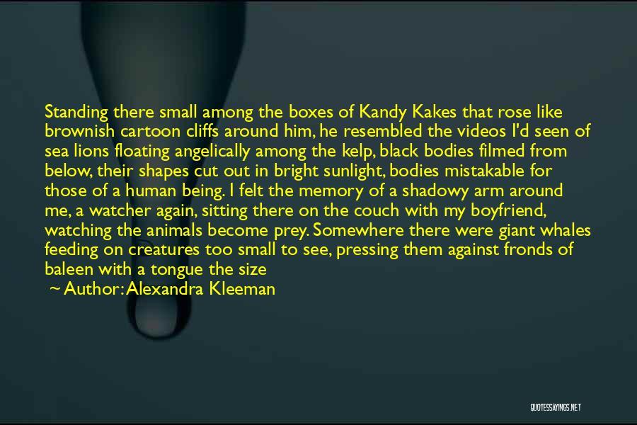 Floating Floor Quotes By Alexandra Kleeman