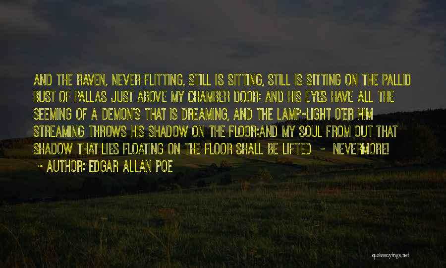 Floating Floor Quotes By Edgar Allan Poe