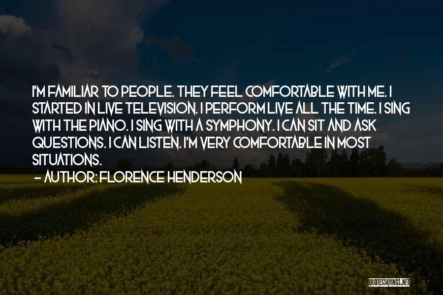 Florence Henderson Quotes 948535