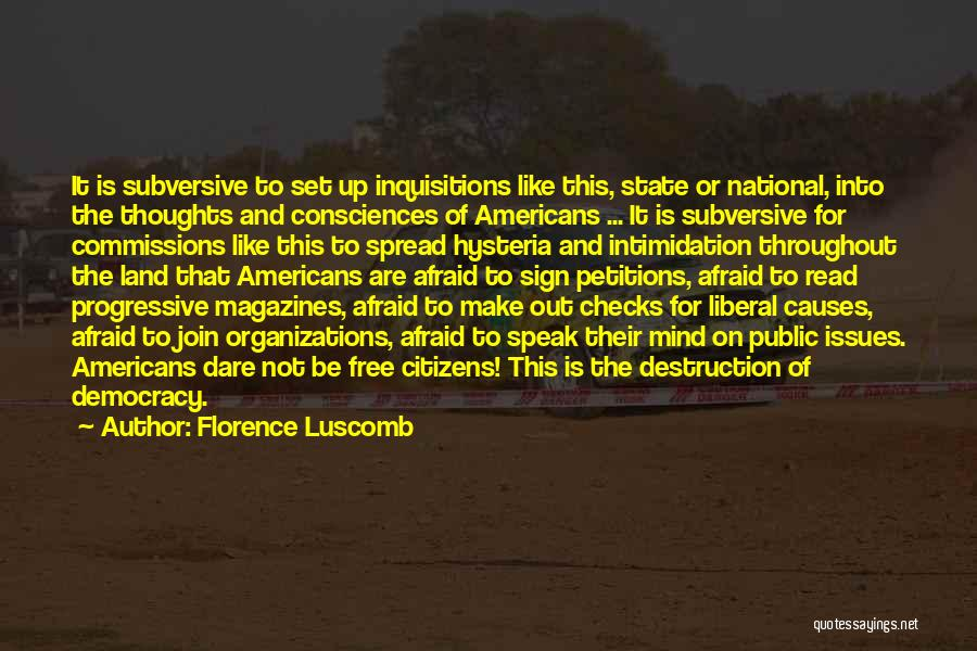Florence Luscomb Quotes 2087120
