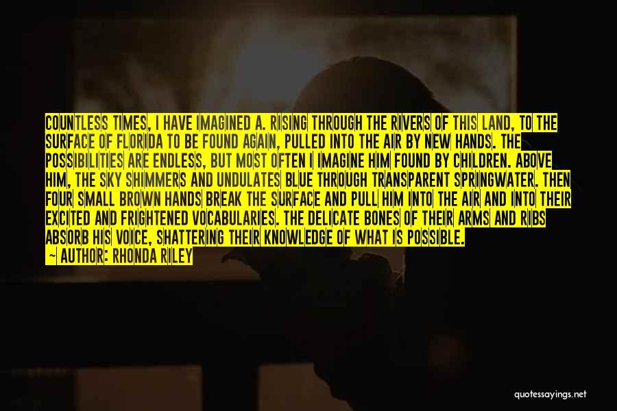 Florida Blue Quotes By Rhonda Riley