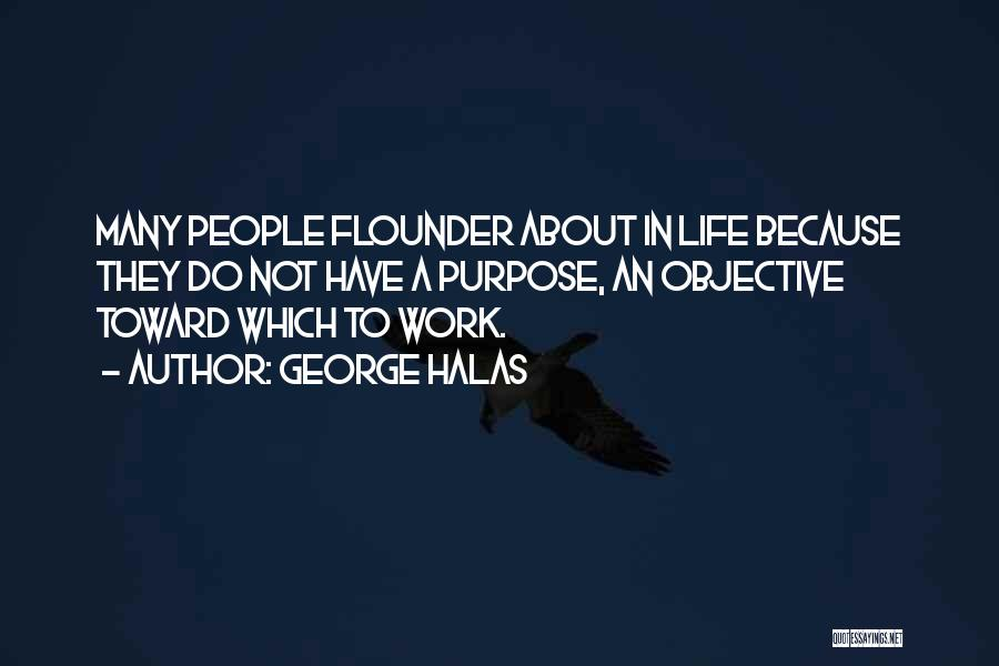 Flounder Quotes By George Halas