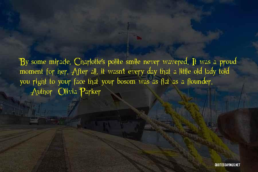 Flounder Quotes By Olivia Parker