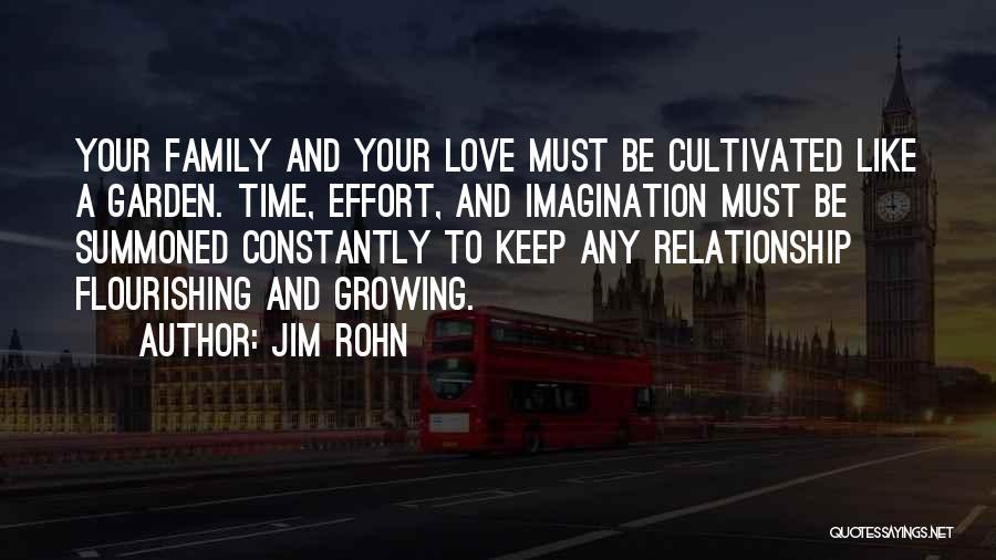 Flourishing Love Quotes By Jim Rohn