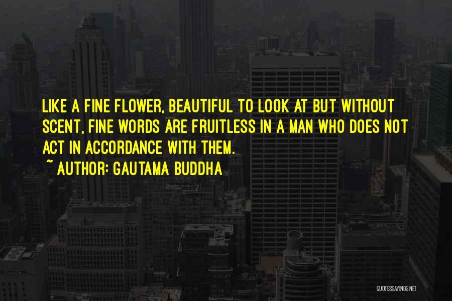 Flower Beautiful Quotes By Gautama Buddha