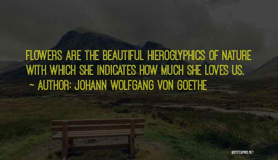 Flower Beautiful Quotes By Johann Wolfgang Von Goethe