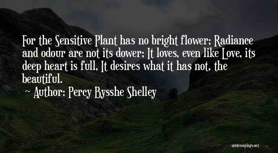 Flower Beautiful Quotes By Percy Bysshe Shelley