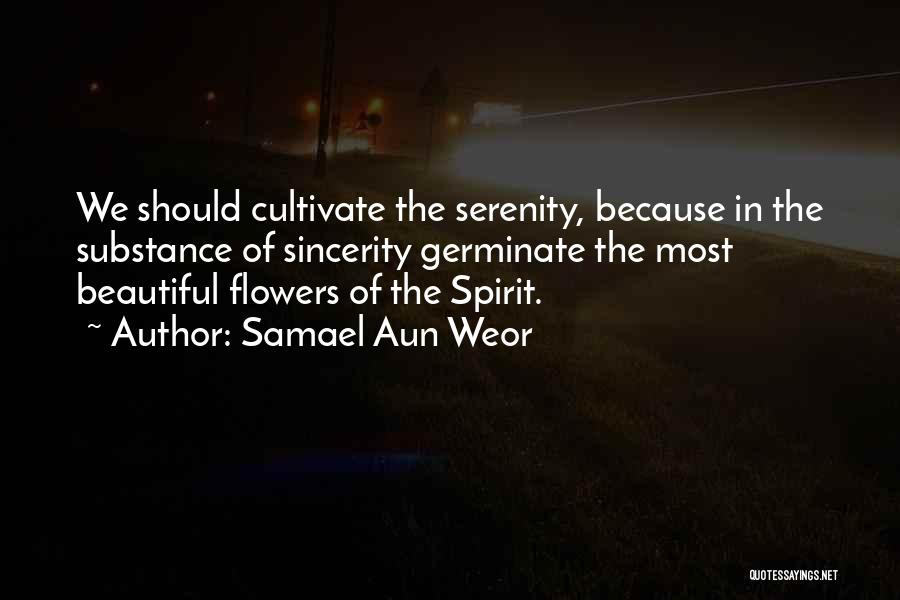 Flower Beautiful Quotes By Samael Aun Weor