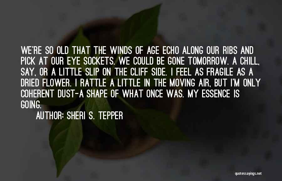 Flower Essence Quotes By Sheri S. Tepper